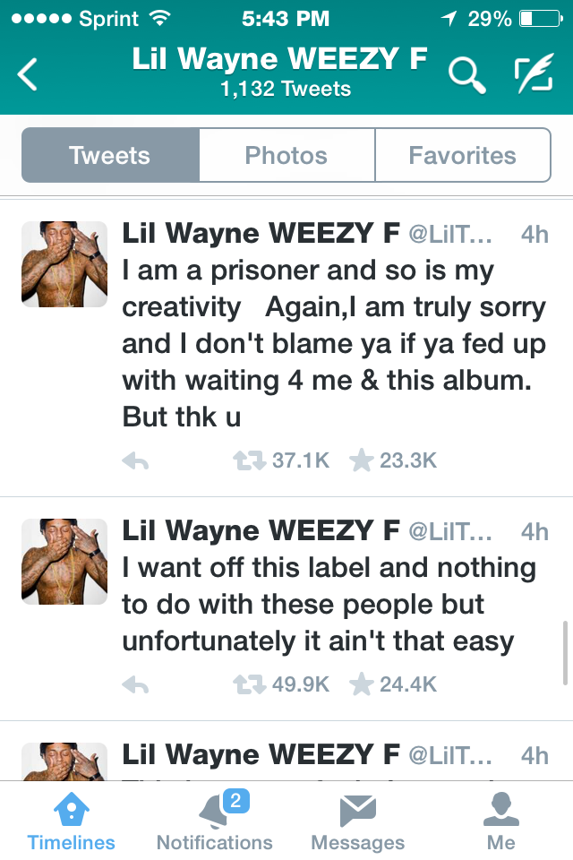 Damnnnn, Lil Wayne sets it Straight!