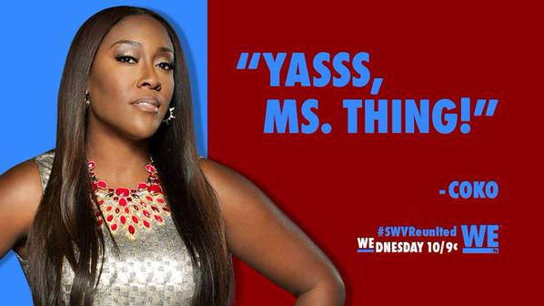 The Legend: Coko of SWV vs. The KNOT: K. Michael