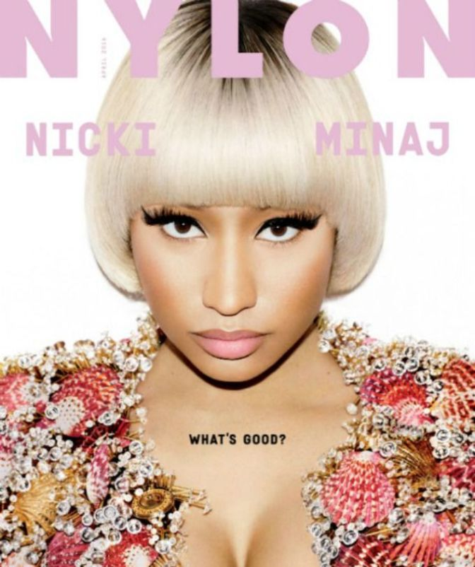 Nicki in Nylon