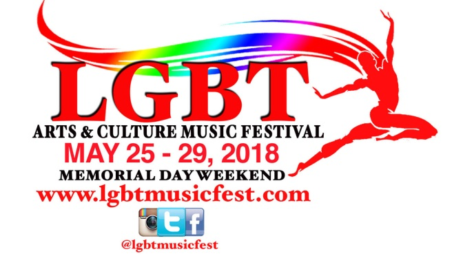 LGBT Arts and Culture Music Festival Memorial Day Weekend