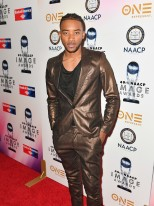 PASADENA, CA - JANUARY 14: Algee Smith at the 49th NAACP Image Awards Non-Televised Awards Dinner at the Pasadena Conference Center on January 14, 2018 in Pasadena, California. (Photo by Earl Gibson III/Getty Images) *** Local Caption *** Algee Smith