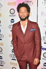 PASADENA, CA - JANUARY 14: Jussie Smollett at the 49th NAACP Image Awards Non-Televised Awards Dinner at the Pasadena Conference Center on January 14, 2018 in Pasadena, California. (Photo by Earl Gibson III/Getty Images) *** Local Caption *** Jussie Smollett